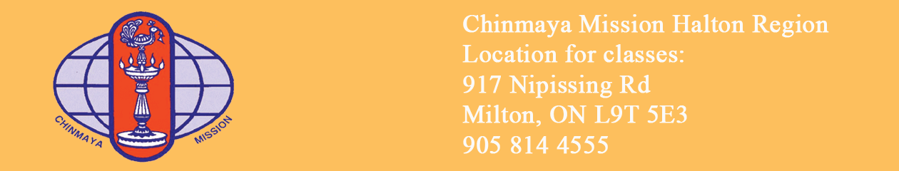 Chinmaya Mission Halton Region
